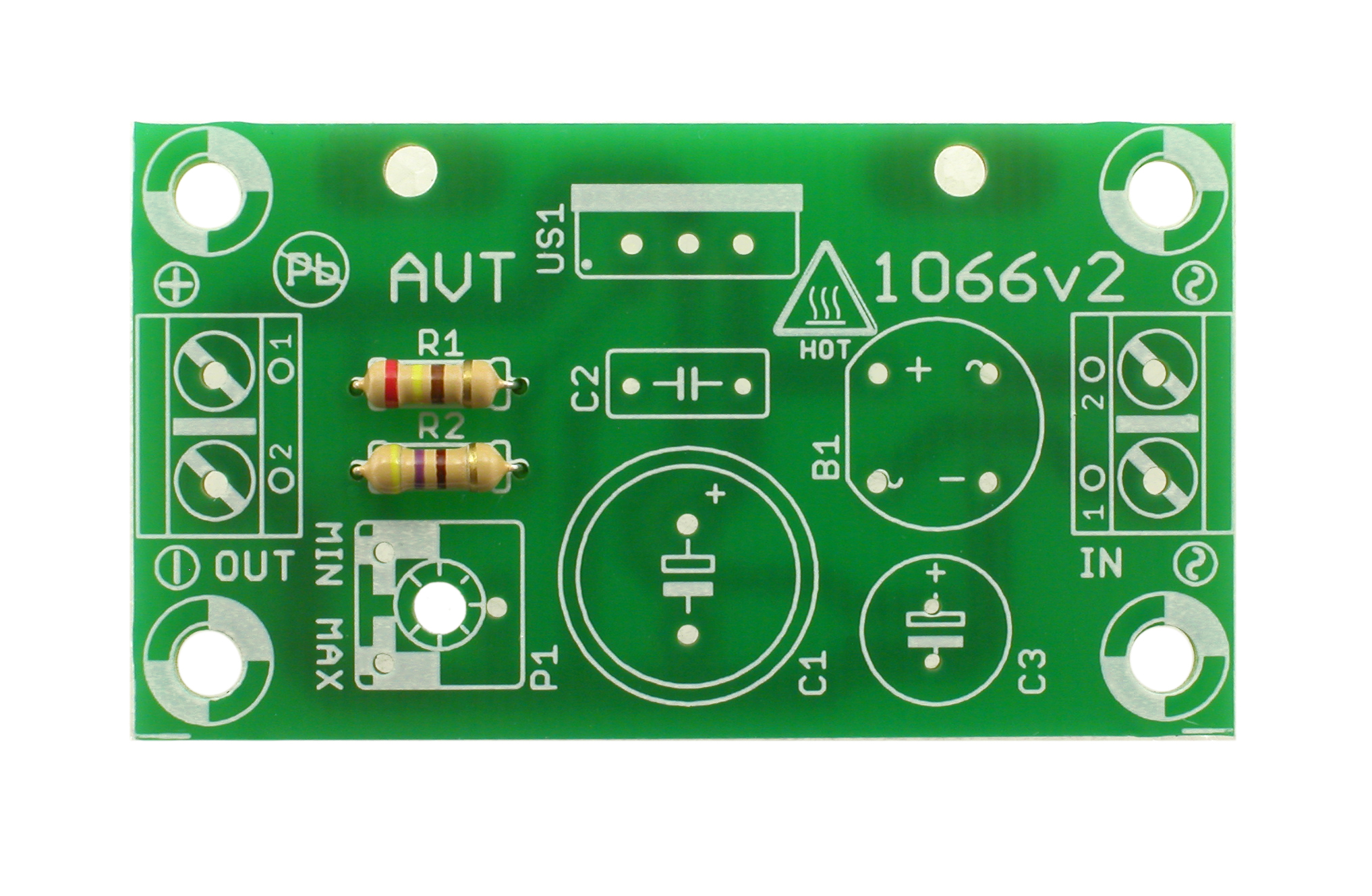 Avt 1066 Want To Present Is Constructed Using The Integrated Circuit Lm317 Zoom